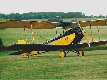 out of africa aeroplane
