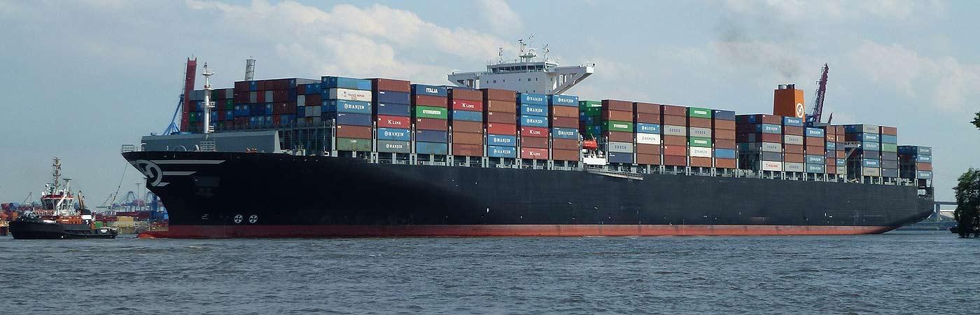main image of a cargo ship depicting marine cargo insurance company
